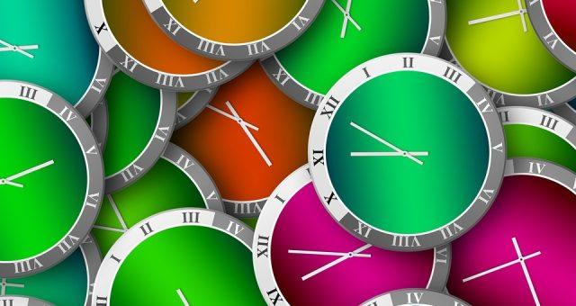 ejercicio sobre como dar la hora